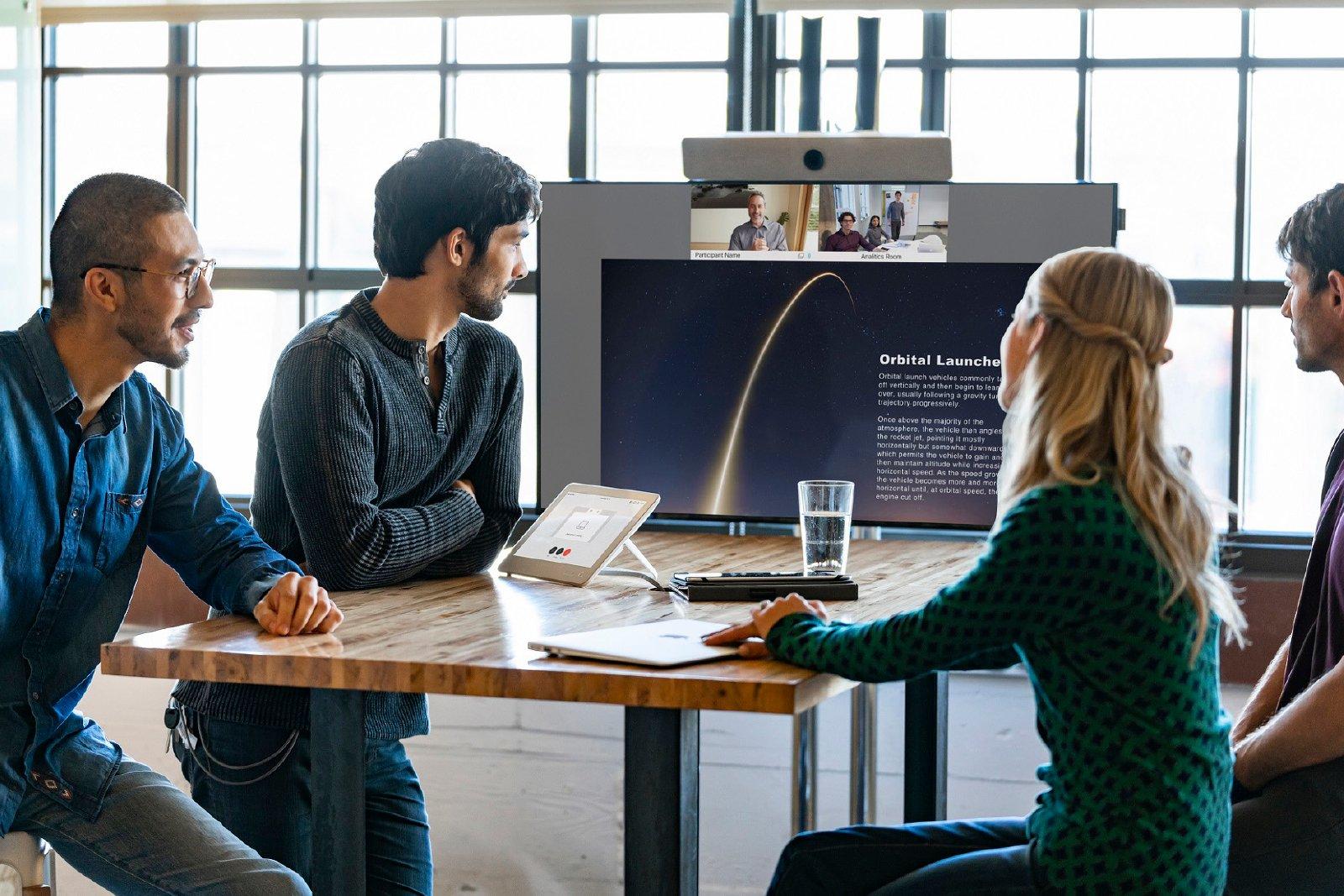 Modern meeting room 2