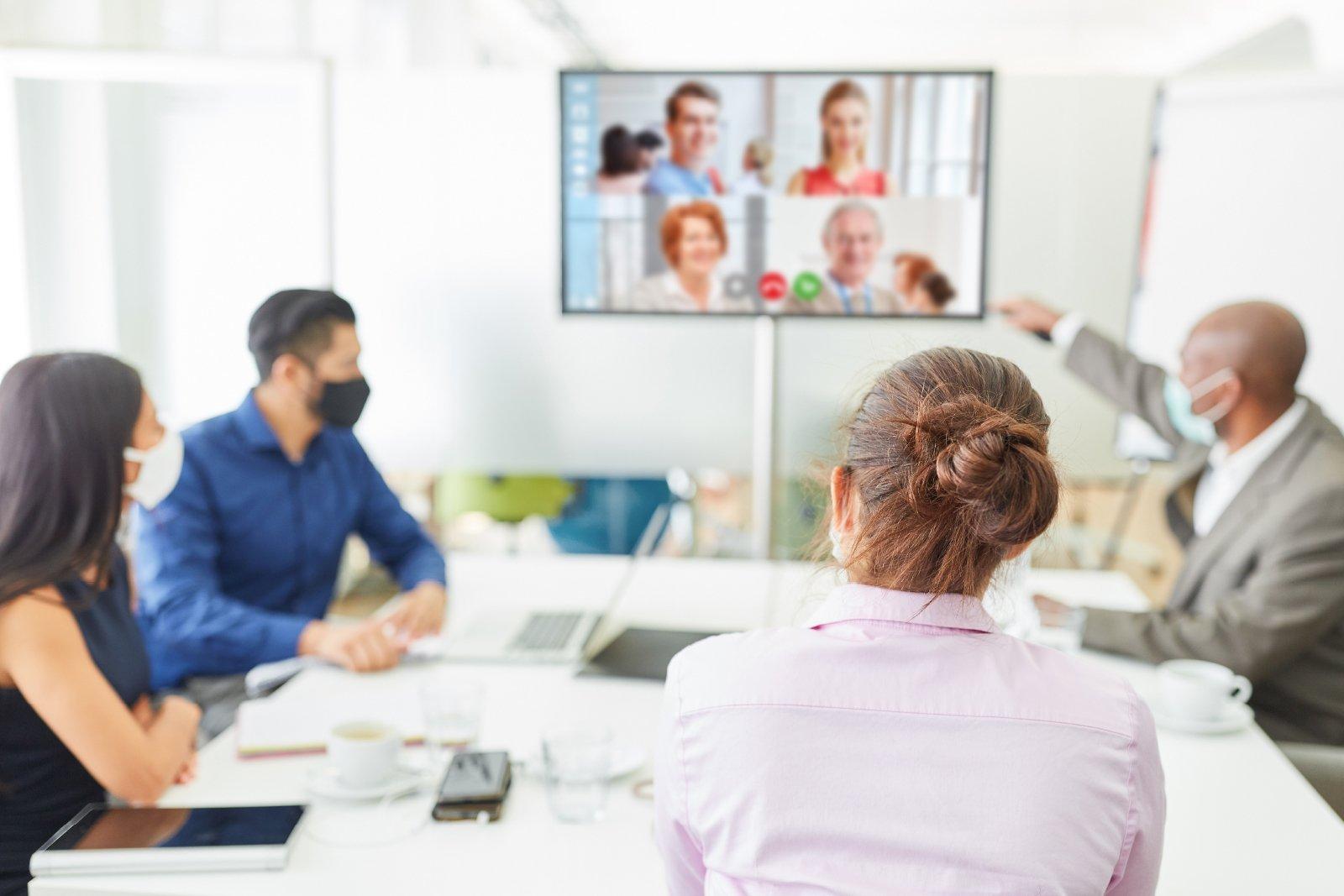 Modern meeting room 3